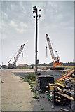 TA0623 : Barrow Haven Timber Wharf by David Wright