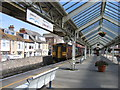 SY6779 : Weymouth railway station by A-M-Jervis