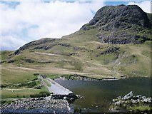 NY2807 : Harrison Stickle by Peter S