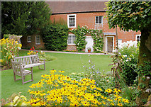 SU7037 : Garden, Jane Austen's House by Pierre Terre