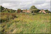 SU4727 : Firing Range at Bushfield Camp by Peter Facey