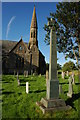 NY2231 : War Memorial and church, Bassenthwaite by Philip Halling