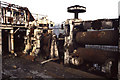 SS6694 : Derelict rolling mill, Landore by Chris Allen