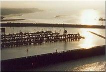 NT1278 : Evening at Port Edgar by Sarah Charlesworth