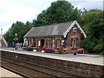 NY6820 : Appleby-in-Westmorland Station : Waiting Room by Rob Farrow