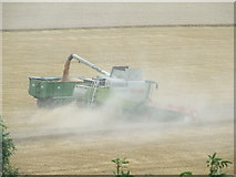 TM2863 : Dust and harvest by Keith Evans