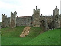 TM2863 : Framlingham Castle by Keith Evans
