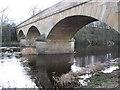 NY8383 : Bridge Over North Tyne at Bellingham by Ed Jennings