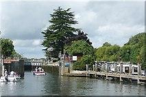 TQ0172 : Bell Weir Lock by Graham Horn