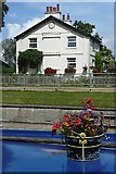 TQ0469 : Penton Hook Lock House by Graham Horn