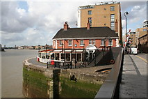 TQ3680 : The 'Narrow', Limehouse by Dr Neil Clifton