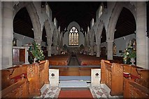NY3704 : St Mary, Ambleside, Cumbria - West end by John Salmon