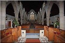 NY3704 : St Mary, Ambleside, Cumbria - West end by John Salmon