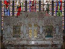 NY3704 : St Mary, Ambleside, Cumbria - High Altar reredos by John Salmon