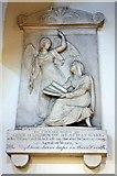 NY3704 : St Mary, Ambleside, Cumbria - Wall monument by John Salmon