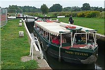 SU9947 : Harry Stevens at St Catherine's Lock by Graham Horn
