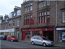 NO8785 : Royal Hotel, Stonehaven by Nicholas Mutton