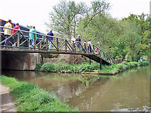 TQ0562 : Wey Navigation/ Basingstoke Canal Junction by Andy Stephenson