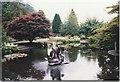 NT2838 : Lily pond in Kailzie Gardens by Sarah Charlesworth