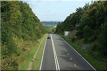 ST8348 : 2008 : The A36 near Chapmanslade by Maurice Pullin