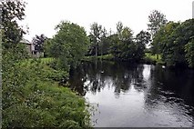 NN6207 : River Teith, South Church Street, Callander by John Salmon