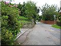 SO5621 : Minor road to Glewstone by Pauline E