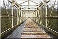 NY9438 : Cement Works Bridge by Dean Allison