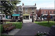 TR3752 : Shops opposite church, High Street, Deal by John Salmon