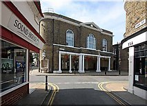 TR3752 : High Street from Oak Street, Deal by John Salmon