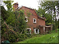 SU3646 : Andover - Burnt-Out House by Chris Talbot