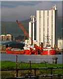 J3576 : 'Split One' and 'Red Fighter' in Belfast by Rossographer