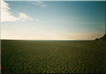 SW6424 : Looking over the curve of Loe Bar. by Michael Murray