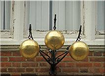 TQ3296 : Pawnbroker Sign, Church Street, Enfield by Christine Matthews