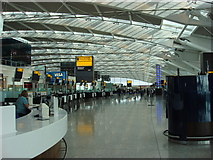 TQ0575 : Heathrow Terminal 5, departure hall by Oxyman