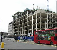 TQ3166 : New residential building at 187 London Road by Roger