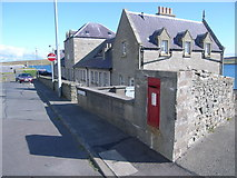 HU4841 : Houses and postbox in Twageos Road by Nick Mutton