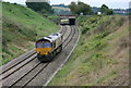 ST7165 : 2008 : EWS tractor near Bath by Maurice Pullin
