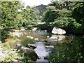 NY3205 : River view of Chapel Stile by Peter S
