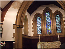 SE1840 : Interior of St Paul's church, Esholt by Stephen Craven