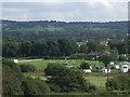 SE1740 : Cricket ground at Esholt by Stephen Craven