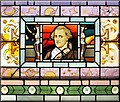 NS4764 : Stained Glass - William Herschel by Lairich Rig