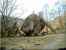 NY2516 : The Bowder Stone by Trevor Harris