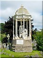 NS7993 : Monument to Margaret Wilson (a Wigtown Martyr) by Lairich Rig