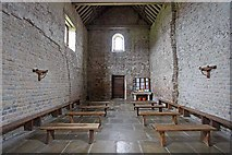 TM0308 : St Peter on the Wall, Bradwell juxta Mare, Essex - West end by John Salmon
