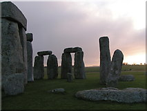 SU1242 : Stonehenge at sunrise by Rob Purvis
