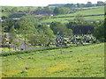 NS6055 : Philipshill Cemetery by Dannie Calder