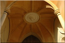 SO8845 : Vaulting, Croome D'Abitot Church by Philip Halling