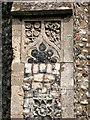 TG3136 : The church of All Saints - elaborate flushwork by Evelyn Simak