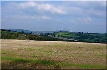 SY4193 : Countryside near Morcombelake by Nigel Mykura