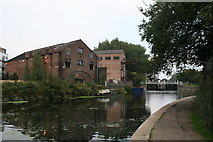 TQ3783 : Lee Navigation:  below Old Ford Locks by Dr Neil Clifton